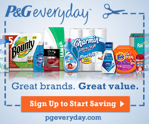 Free Samples From P&G Everyday