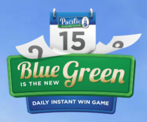 Pacific Seafood Blue Is The New Green Instant Win Game