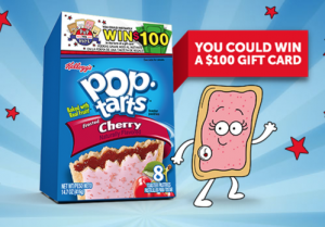 The Kellogg's Pop-Tarts Pop the Vote Sweepstakes