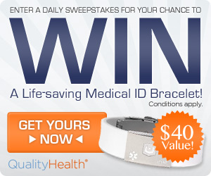 Quality Health Medical ID Bracelet Giveaway