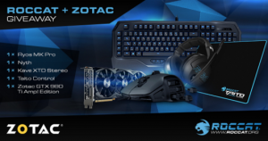 Enter To Win The Ultimate Gaming Bundle From Roccat & Zotac
