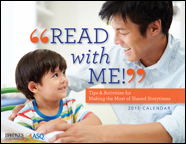 """Free 2015 """"Read With Me"""" Calendar"""
