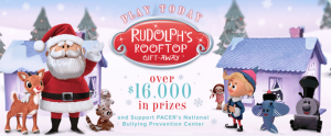 Rudolph's Rooftop Gift-Away