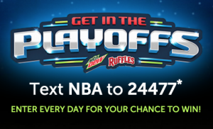 """Ruffles / Mtn Dew """"Get In The Playoffs"""" Promotion"""