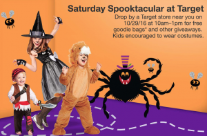 Saturday Spooktacular at Target