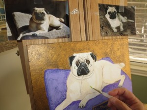 Enter To Win A Hand Painted Portrait Of Your Pet