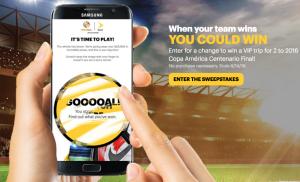 Sprint Copa America Promotion