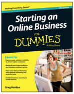 Free eBook - Starting an Online Business for Dummies, 7th Edition ($16.99 Value)