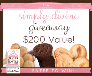 The Simply Divine Giveaway from Sugar Bowl Bakery