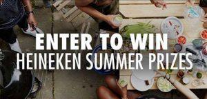 Heineken Summer 2016 Grilling Sweepstakes