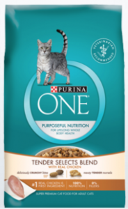 Free Sample Of Purina One Tender Selects Blend Cat Food