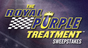 The Royal Purple Las Vegas Bowl Quarterback Challenge Sweepstakes