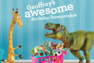 "Toys""R""Us Geoffrey's Birthday Club Sweepstakes"