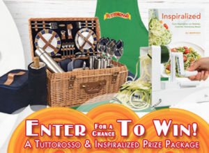 The Tuttorosso Inspiralize the Spring Sweepstakes