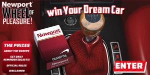 The Newport Wheel of Pleasure Sweepstakes