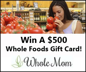 Whole Foods $500 Gift Card Giveaway