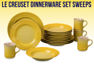 Enter To Win A Le Creuset Dinnerware Set