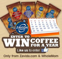 Whole Mom Coffee For A Year Giveaway