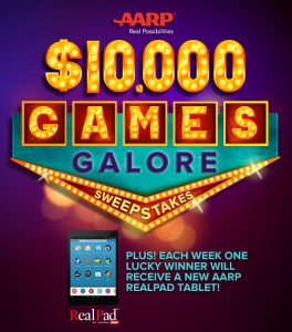 AARP $10,000 Games Galore Sweepstakes