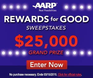 AARP Rewards for Good Sweepstakes