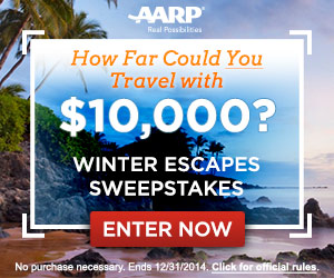 America's Winter Escapes $10,000 Photo Memory Game Sweepstakes