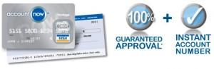 Free Account NOW Prepaid Visa Card