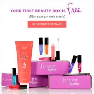 Free Julep Maven 4-Piece Gift