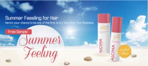 Free Sample Of Alcina After-Sun Shampoo