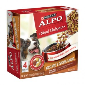 Free Sample Of ALPO Meal Helpers