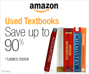 Used Textbooks From Amazon At Up To 90% Off