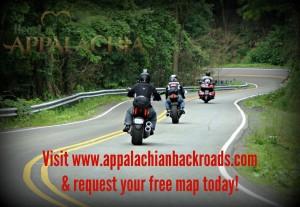 Free Appalachian Mountains Backroads Map