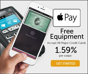 Free Apple Pay and/or Android Pay Equipment