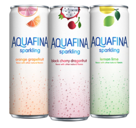 Free Aquafina Sparkling Drink
