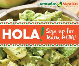 """The Avocados from Mexico """"Team AFM"""" Fan Program Sweepstakes"""