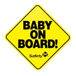 Free baby On Board Sign From Safety 1st
