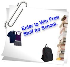 Freebieking Back To School Sweepstakes