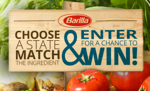 Barilla Discover Spring Possibilities Sweepstakes