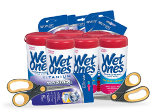 Free Wet Ones Hand Wipes and Wescott Scissors for Teachers