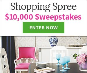 Better Homes & Gardens $10,000 Overstock.com Shopping Spree Sweepstakes