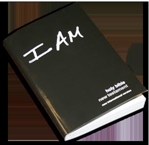"""Free Pocketsized """"I Am"""" New Testament Bible"""