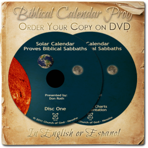 Free Biblical Calendar On DVD