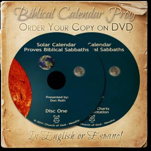 Free Biblical Calendar On DVD