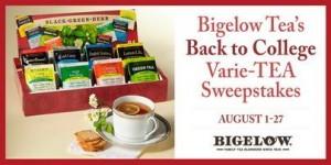 Bigelow Tea Back To College Varie-Tea August Sweepstakes