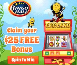 Free $25 Free Credit To BingoHall