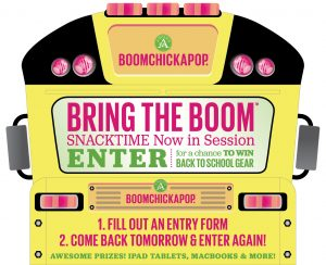 Angie's Boomchickapop Snacktime Now in Session Sweepstakes