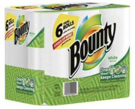TopCashBack - Free Bounty Paper Towels