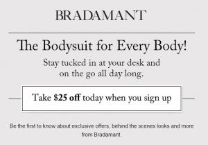 Free $25 credit to Bradamant