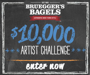 Bruegger's Bagels $10,000 Brick Wall Contest