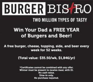 HULEDET Burger Bistro Giveaway