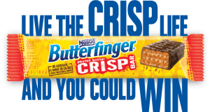 Live the Butterfinger Crisp Life Sweepstakes